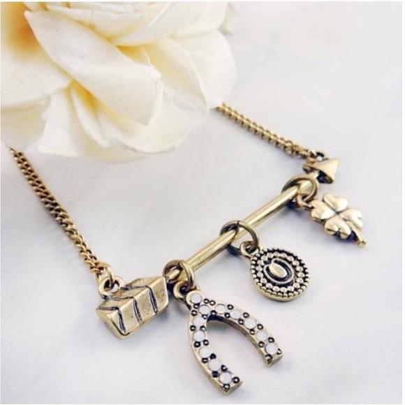 Jewelry - Boho Luck Charm Arrow Necklace